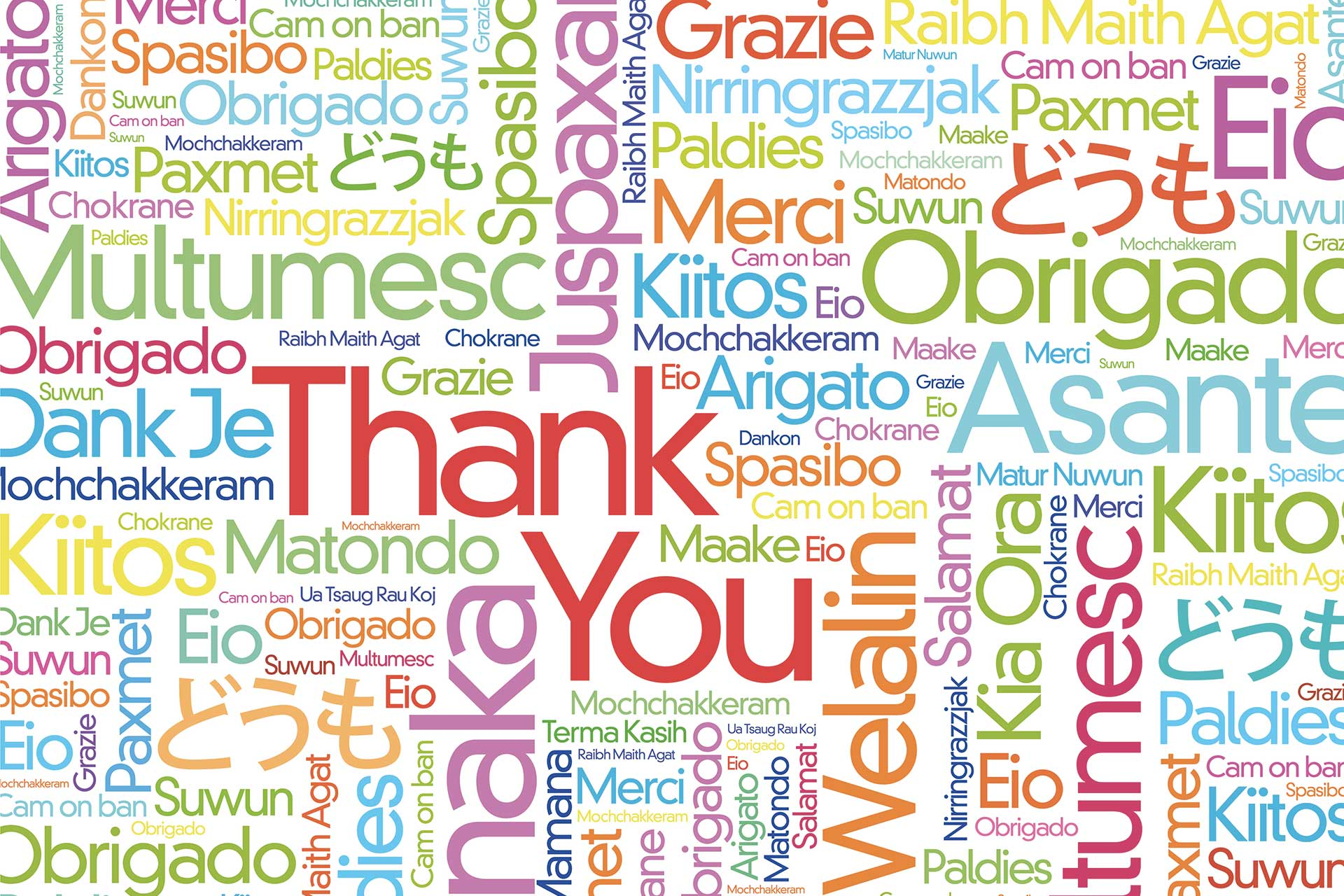 How to say Thank You in… - Global Voices