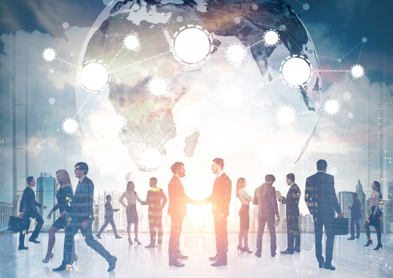 Global connections formed among business professionals
